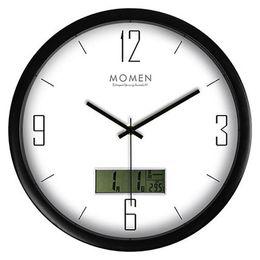 $enCountryForm.capitalKeyWord NZ - Digital Living Room Wall Clock Lcd Creative Art Silent Large Electronic Wall Clock Modern Design Unique Home Watch Brief