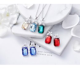 Amethyst Pendants For Men Australia - Full Rhinestone Gengar Pendant Necklace Creative Hip Hop Bling Bling Ice Out Jewelry With Free 24 Inch Chain For Men Gift