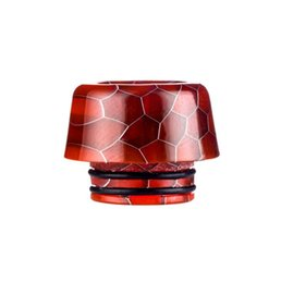 Electronic Healthy UK - Safe Healthy Snakeskin Resin Drip Tip For 810 Caliber Atomizer Electronic Cigarette Nozzle Vape Mouthpiece