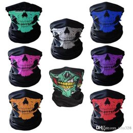 $enCountryForm.capitalKeyWord Australia - 14 styles Motorcycle bicycle outdoor sports Neck Face Cosplay Mask Skull Mask Full Face Head Hood Protector Bandanas Party Masks C012