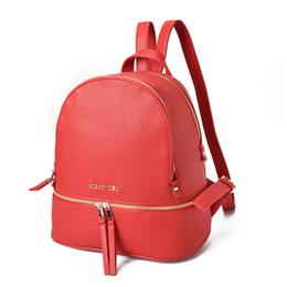 High Quality Backpack Brands Australia - Brand New Lady shoulder bags multicolor handbag new High Quality backpack fashion high-capacity Boston Bags