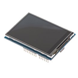 Lcd Arduino Uno NZ - SONOFF 2.4 TFT LCD Touch-screen SD Card Socket Touch Shield V2 Practical Tools for Arduino UNO  Mega