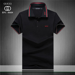 4e4a83bfb Factory High Quality Men's Classic Polo Shirts Club Embroidery Solid Polos  for Boys Sport Tees White Black Sky Blue