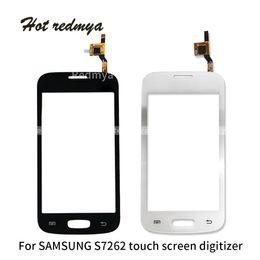 $enCountryForm.capitalKeyWord Australia - 50Pcs For Samsung Galaxy Core Prime S7262 Touch Screen Panel Digitizer Sensor Glass Lens Replacement Part Free DHL