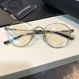 Óculos de armação das mulheres dos homens designer de óculos armações de óculos designer de óculos de armação clara lente óculos de armação oculos com caso BUBBA venda por atacado