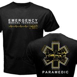 Опт Новый гордый фельдшер EMT Скорая медицинская помощь Медик Спасательная футболка с рисунком
