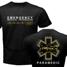 Venta al por mayor de Nuevo Proud Paramedic EMT Emergency Medical Technician Medical Rescue Graphic T-Shirt