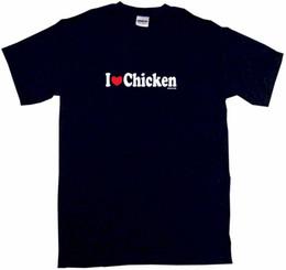 Chinese  I Heart Love Chicken Mens Tee Shirt Pick Size Color Small-6XL harajuku Summer 2018 tshirt manufacturers