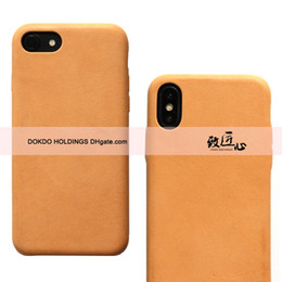 $enCountryForm.capitalKeyWord Australia - DOKDO Protect Cover full wrap Design Shockproof Backcover For iPhone X Xs Super Slim Vegetable Tanned Genuine Leather iPhone Max Phone Case