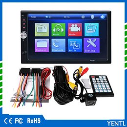 Free Mobile Player Australia - Free shipping yentl 2 Din Car DVD 7 inch HD In Dash Touch Screen BluetoothCar Radio Player Stereo USB Touch Screen 2 DIN Car MP5 MP3
