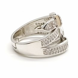 $enCountryForm.capitalKeyWord UK - Creative Belt Buckle Circle Ring Europe And The United States Fashion Personality Men And Women Ring Tide Hand Jewelry