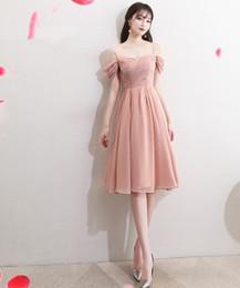 $enCountryForm.capitalKeyWord Australia - Knee Length Tulle Short Women's Summer Dress Plus Size Polyester Thin Party Evening Prom Dress For Ladies Wedding Wear Clothing