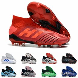 $enCountryForm.capitalKeyWord NZ - Predator 19+ 19.1 FG AG PP Paul Pogba 25th Anniversary Golden Mens Boys Soccer Football Shoes 19+x Cleats Boots Taquets Size 11