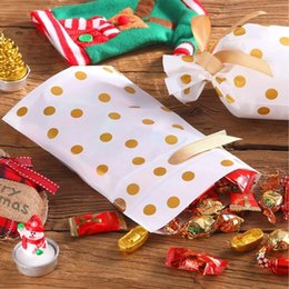 candy treat boxes Canada - 50 Packs Treat Bags With Drawstring Candy Bags, Plastic Favor Bag Drawstring Cookie Bags For Christmas Wedding Party Birthday En Kitchen Sto
