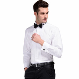 $enCountryForm.capitalKeyWord Australia - Men's French Cufflinks Long Sleeve Dress Shirt Male Formal Tuxedo Shirts Male Wedding Shirt for Men S M L XXL XXXL 5XL