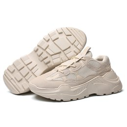 China Fashion Korea Style Hot Leisure Shoes Beige Color Man Leisure Footwear US Size 6.5~10 Free Shipping suppliers