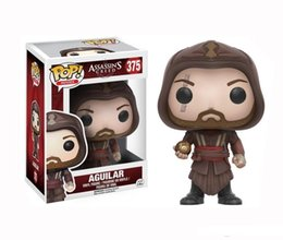 low price toys NZ - LOW price Funko Pop Assassin's Creed Aguilar Vinyl Action Figure With Box #190 Popular Collectible Toy Good Quality