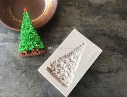 $enCountryForm.capitalKeyWord NZ - Wholesale Low price New white Christmas Tree Silicone mold fondant mold cake decorating tools chocolate gumpaste mold
