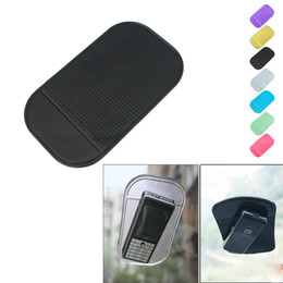 Sticky Gadgets Australia - 2019 Gadget Styling Sticky Gel Pad Accessories Phone Holder Magic Dashboard Silicone Anti Non Slip Mat Car Accessories