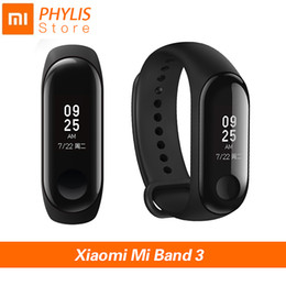 touch screen sport bracelet NZ - Xiaomi Mi Band 3 Sport Smart Band Fitness Bracelet Pedometer Heart Rate Smart Wristband Touch Screen Xiomi Smartband Miband 3 J190522