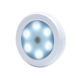 China PIR Wireless Infrared Body Motion Sensor Night Light 6leds for Closet Cabinet Stairs Detector Light luminarias Magnet Wall Lamp cheap body detector suppliers