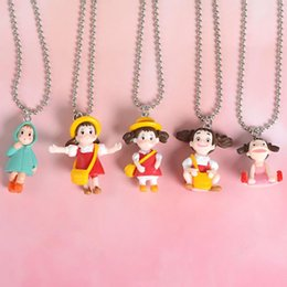 Discount totoro necklace - Totoro Necklace Cute Totoro Girls Mini Figures Necklace Pendants Children Kids Fashion Women kids designer necklace gift