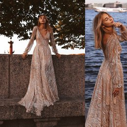 Pictures Cotton Gowns Australia - 2019 Handmade long Sleeves Prom Dresses Applique Covered Button Back Lace Evening Dresses Junior Skinny Girl Party Gowns Bridal Gowns