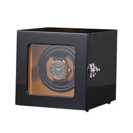 $enCountryForm.capitalKeyWord NZ - Luxury Watch Winder ,LTCJ Wooden Automatic Rotation1+0 Watch Winder Storage Case Display Box (outside is black)