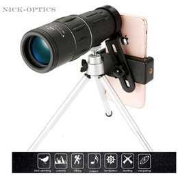 $enCountryForm.capitalKeyWord Australia - 16X52 upgrade Telescope HD Monocular Handheld scope for Outdoor Hiking with Universal smart phone holder and tripod Watch soccer