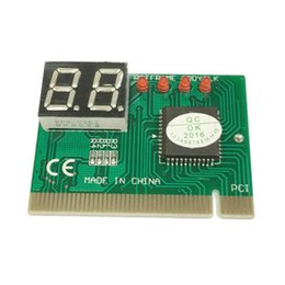 pci post diagnostic card NZ - Computer Components Add On Cards PCI Post Card PC Diagnostic Card 2 Digit LED Motherboard Post Tester Analyzer Checker For AMI PHONENIX
