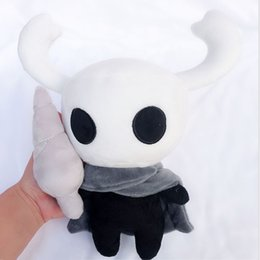 Figures Australia - 30cm(11.8inch) 2019 New Game Hollow Knight Plush Toys Figure Ghost Plush Stuffed Animals Doll Brinquedos Kids Gift Toys C2