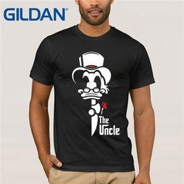 $enCountryForm.capitalKeyWord Australia - Classic Cartoon The Uncle Duck T Shirt Men Adult Donald Guys Black Short Sleeve O Neck Custom T Shirt Man Brand Clothes Boy Tees