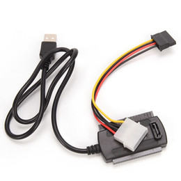 Ide hdd cable online shopping - 4 Pin Power Cable USB to IDE SATA Adapter Cable for HD HDD Hard Drive Adapter Converter Cable