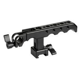 China Camera Rig Australia - CAMVATE NATO Cheese Handgrip With 15mm Rod Clamp For DSLR Camera Cage Rig C2125