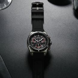 Discount men sports hand watch - MEGIR Fashion Sports Quartz Watch Men Chronograph 3 Dials 6 Hands Date Display Multifunction Rubber Strap Casual Wristwa