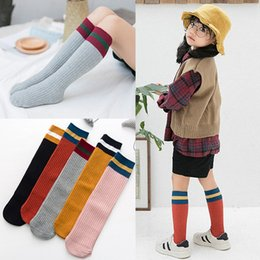 clothes for years old Australia - Long Kids Socks Baby Girl Clothes Infant Boy Knee High Sock Long Stuff Tiny Cottons 2019 for Spring and Autumn 1-8 Years Old