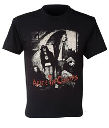 9e40c9f36 mens designer t shirts shirt Alice in Chains T-shirt American rock band t-shirt  retro Jerry Cantrell grunge