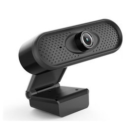 live streaming cameras NZ - Drive Free HD 1920X 1080P Webcam Live Streaming USB Web Camera Built In Microphone For Video Calling Conference