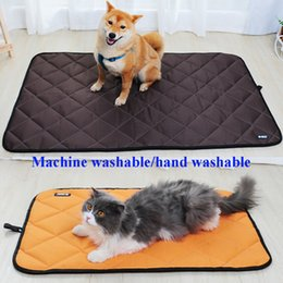 Pet cool Pad online shopping - Summer Pet Dog Cat Cooling Mat Non Toxic Non slip Waterproof Pad Bed Heat Relief Cushion