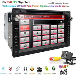 $enCountryForm.capitalKeyWord Australia - 2DIN Car GPS Navigation fit for VW Volkswagen Passat Jetta CITI CHICO TRANSPORTER T5 Golf Polo MK3 MK4 MK5 SEAT with Rear Camera