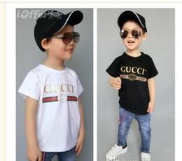 Zebra Tee Australia - Designer Brand 1-9 Years Old Baby Boys Girls T-shirts Summer Shirt Tops Children Tees Kids shirts Clothing