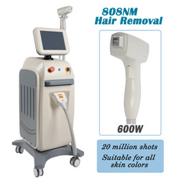 AlexAndrite lAser hAir removAl mAchines online shopping - 808nm laser hair removal beauty machine alexandrite laser hair removal nm Lumenis Diode system professional salon clinic use