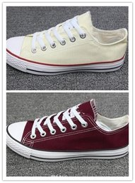 Wholesale Canvas High Shoes Australia - Womens star big Size 35-45 High top Casual Shoes Low top Style sports stars chuck Classic Canvas Shoe Sneakers Men's Women's Canvas Shoes