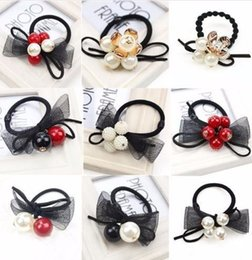 $enCountryForm.capitalKeyWord Australia - 9pcs set Shamballa Ball Accessories For Women Headband,elastic Bands Girls,hair Band Ornaments For Kids