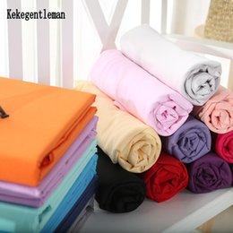 Black White Rose Bedding Australia - 100% Cotton Solid Flat Sheet Bed Sheet Bed Cover Bedsheet Black White Blue Single Twin Full Queen King Home Textiles Wholesale
