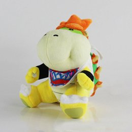 best toys UK - Wholesale 7inch 18cm Cute Koopa Bowser BB Plush Doll Stuffed Toy For Child Best Gifts
