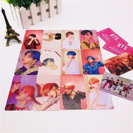 Hd Connectors Australia - New Kpop BTS Members Map of The Soul: Persona Photo Card Jungkook J-hope HD Photocard Bangtan Boys Collective Cards Army Gift