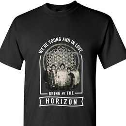 $enCountryForm.capitalKeyWord Australia - Bring Me The Horizon We're Young Girls Juniors Black T-shirt New Official Hipster Latest coat clothes tops
