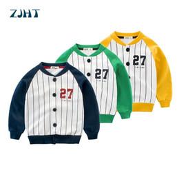 $enCountryForm.capitalKeyWord NZ - ZJHT New Thin Baseball Jacket For Boys Girls Bomber Clothes Children Outdoor Uniform Windbreaker Baby Outerwear Kids Coats MY007
