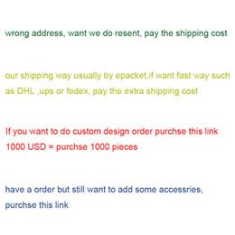 Vente en gros ce lien pour une commande OEM à la conception personnalisée ou pour payer les frais de port supplémentaires